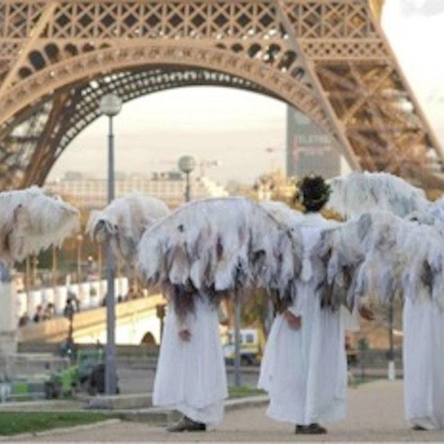 Climate Guardians Eiffel Tower