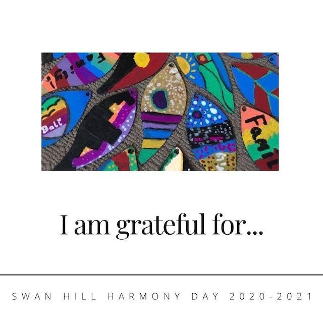 I am grateful for... (1)