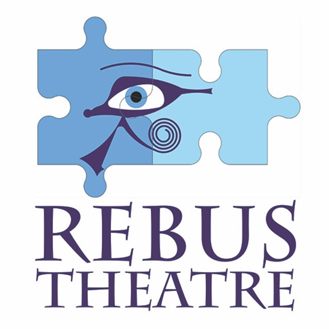 Rebus Theatre Stacked Purple Writing Option 1